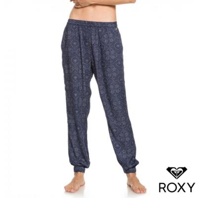 【ROXY】EASY PEASY PANT 絲質長褲 海軍藍