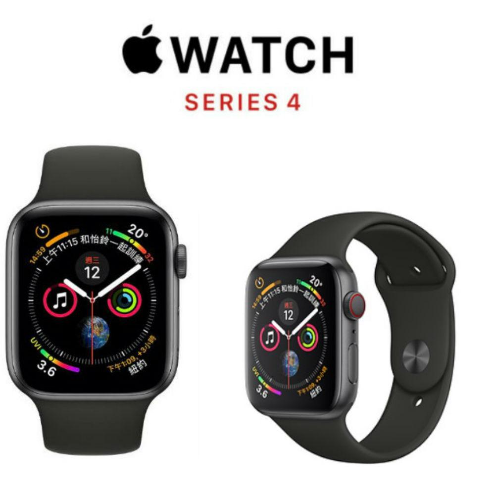 Apple Watch S4 GPS+網路 44mm 太空灰鋁/黑運動MTVU2TA/A