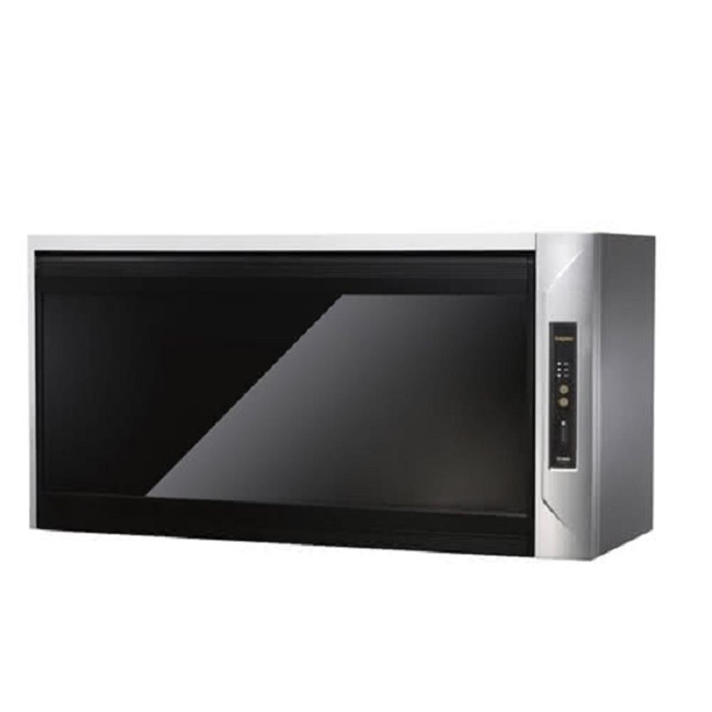 (全省安裝)莊頭北90公分臭氧殺菌紫外線筷架懸掛式烘碗機黑玻璃TD-3205GXL