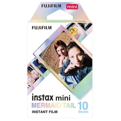 [2盒裝]FUJIFILM instax mini 拍立得底片(美人魚尾巴)