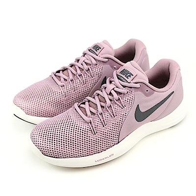 NIKE LUNAR APPARENT 女跑步鞋 908998602 灰紫