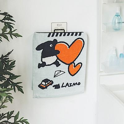 Home Feeling 馬來貘毛巾/卡通/小浴巾 33X76