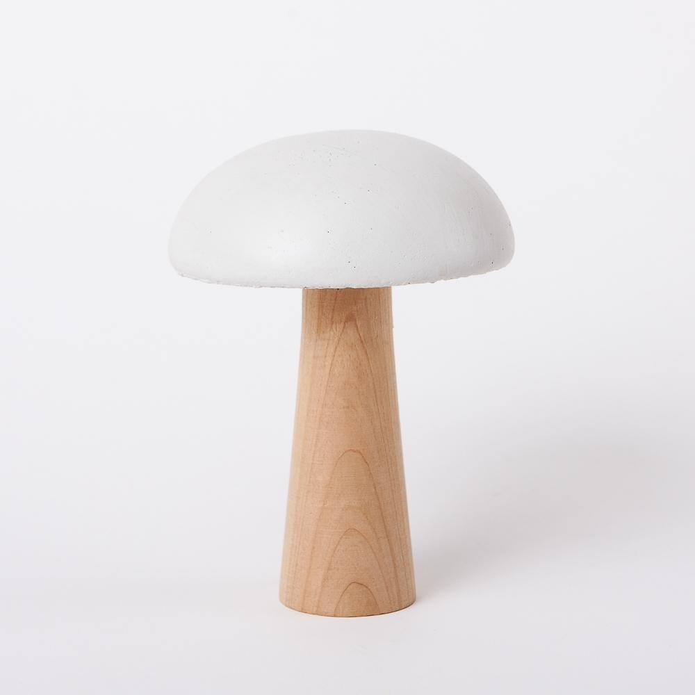 【雙11暖身3件3折-生活工場】蘑菇森林擺飾-白(大)