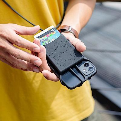 【BONE】斜背手機綁二代-含卡套-原創角色
