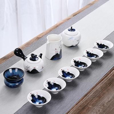 Pure-百川歸海茶具10件組