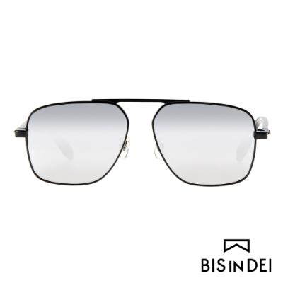 BIS IN DEI 電影明星主角框太陽眼鏡-水銀