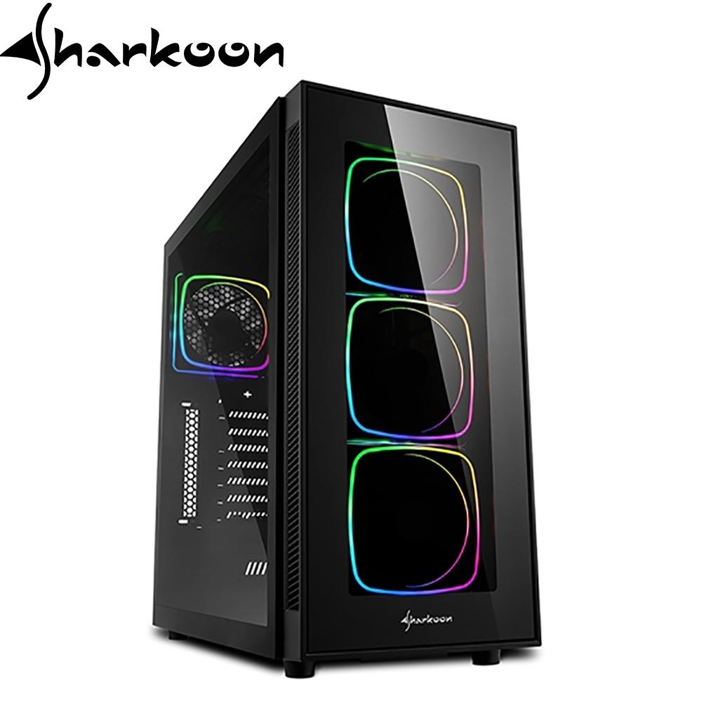 Sharkoon 旋剛 TG6 炫光者PRO ARGB 無孔玻璃透側 ATX 電腦機殼