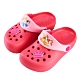 迪士尼童鞋 公主 皇冠飾釦洞洞鞋-粉(柏睿鞋業) product thumbnail 1