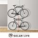 SOLAR頂天立地自行單車收納架.3米可調式穩固不鬆脫單車展示架停車立車架腳踏車架台灣製造 product thumbnail 1