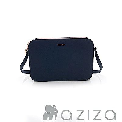 AZIZA  ALYSA 多夾層斜背包-藍