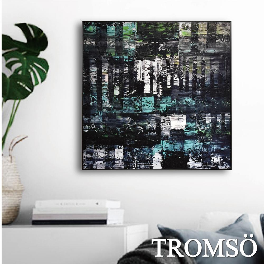 TROMSO 北歐生活版畫有框畫-時代格調A WA80