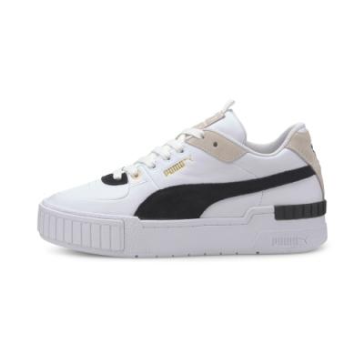 PUMA-Cali Sport Heritage 女性復古運動鞋-白色