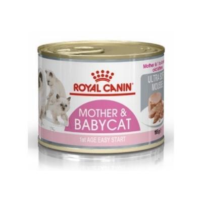 ROYAL CANIN法國皇家-皇家離乳貓與母貓專用濕糧 BC34W 195g『12罐組』