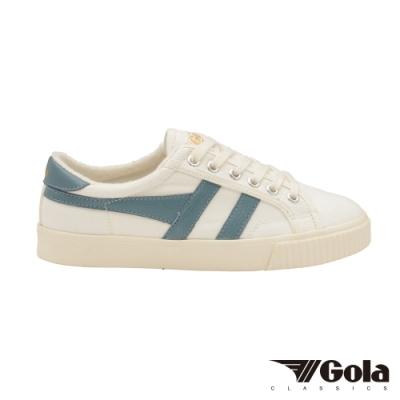 Gola 女帆布鞋Tennis Mark Cox 白/藍綠色