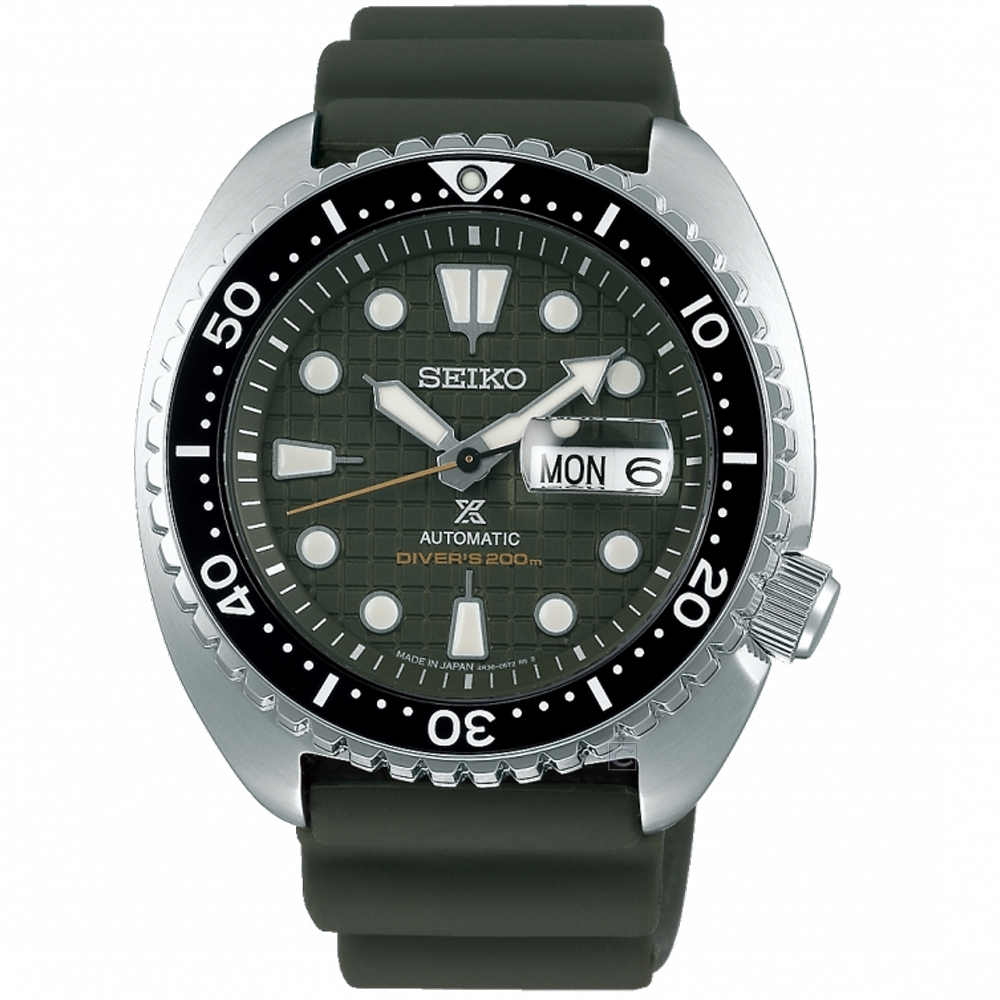 SEIKO精工PROSPEX DIVER SCUBA陶瓷圈機械錶(SRPE05J1)