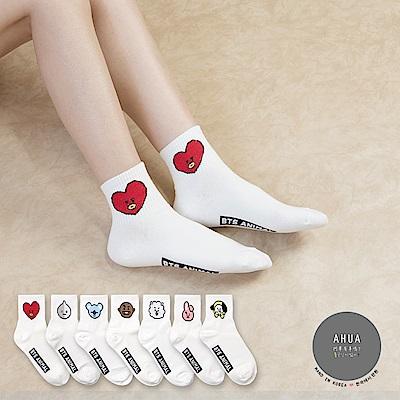 阿華有事嗎 韓國襪子 阿米最愛中筒襪 韓妞必備長襪 正韓百搭純棉襪