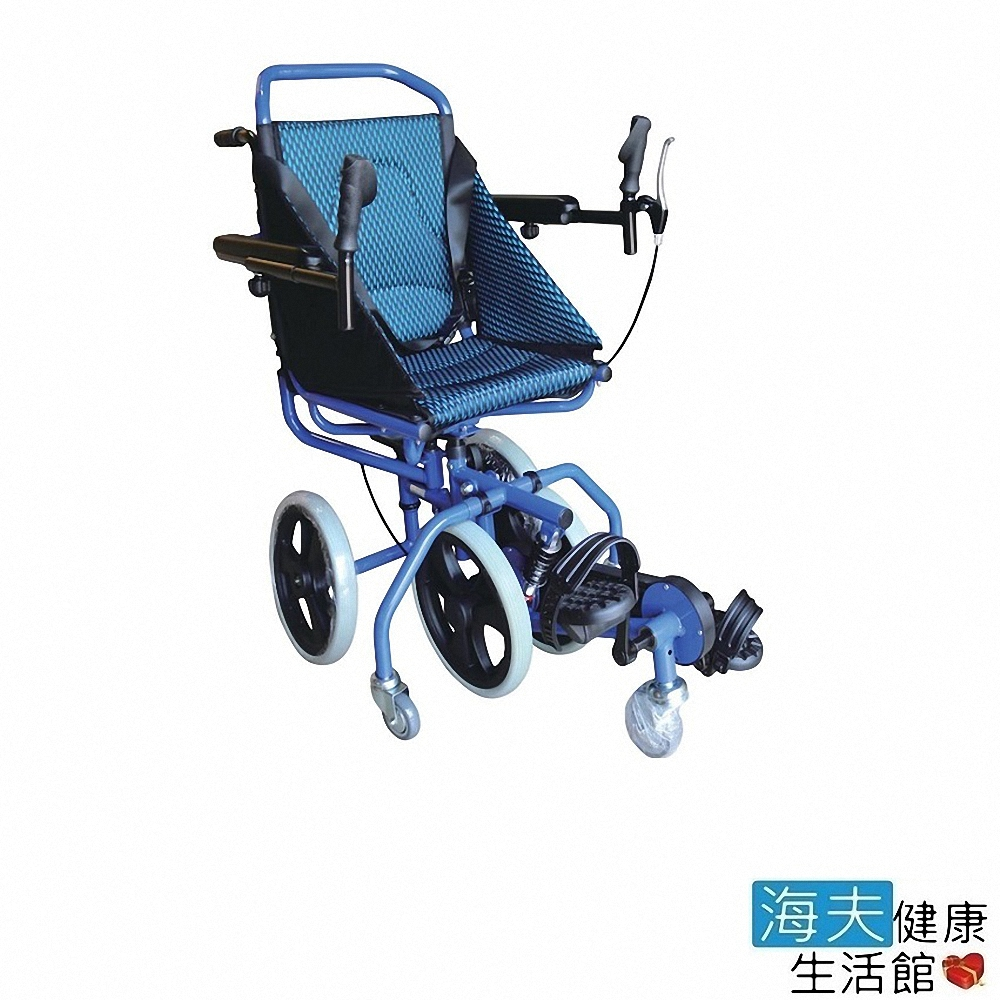 杏華機械式輪椅(未滅菌) 海夫 扶手可掀 腳靠可拆 復建型 鋁製 輪椅(OP-PW2)
