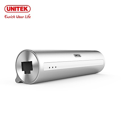 UNITEK Type-c轉3埠USB3.0HUB有線網卡
