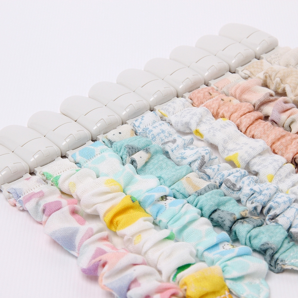 【喜福HiBOU】日本印花布香草奶嘴夾 / 奶嘴夾(2件組) (共2款可選)