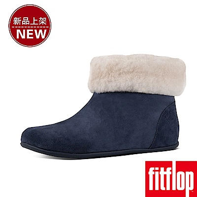 FitFlop SARAH SLIPPER BOOTIES-藍