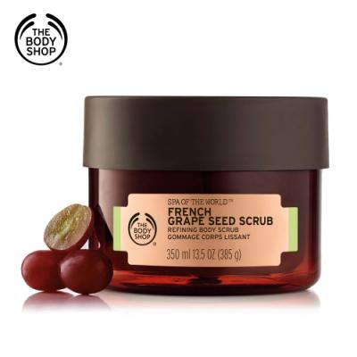 The Body Shop 法國SPA葡萄籽淨化緊實身體磨砂膏(350ML)