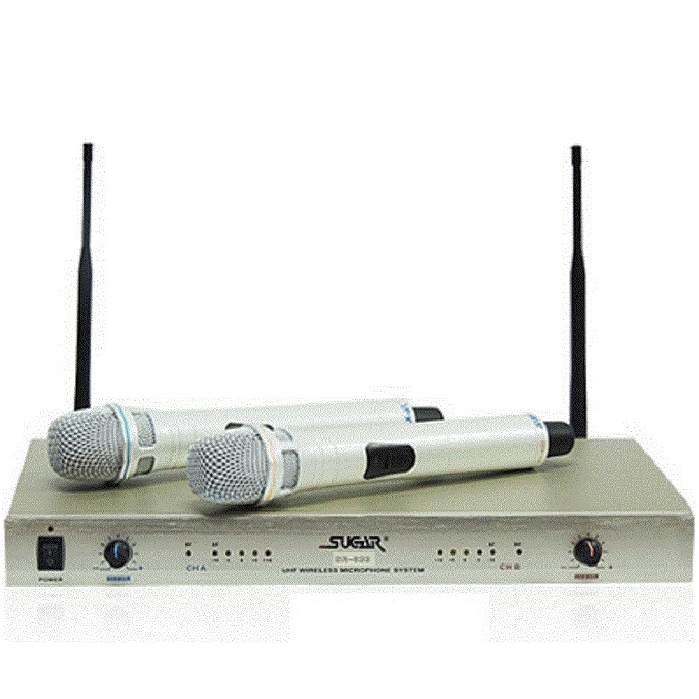 SURGARSR-833 二代 UHF超心型無線麥克風