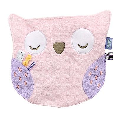 奇哥 PUP 豆趣標籤造型安撫巾-粉紅