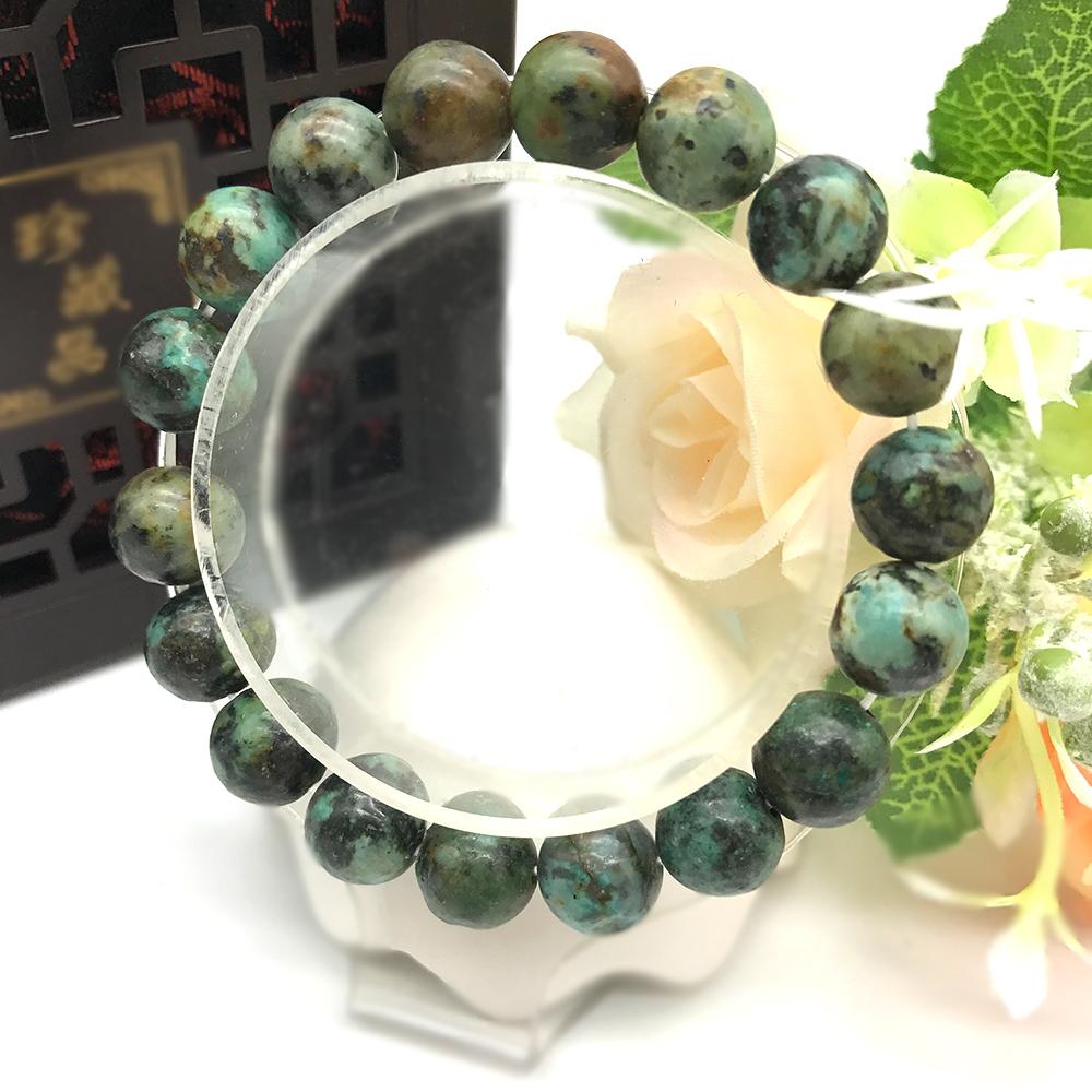 Hera 赫拉 頂級溫潤柔和綠松石手珠(10mm)