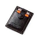 leaper CONTACTS 真皮防RFID掃描卡夾證件夾
