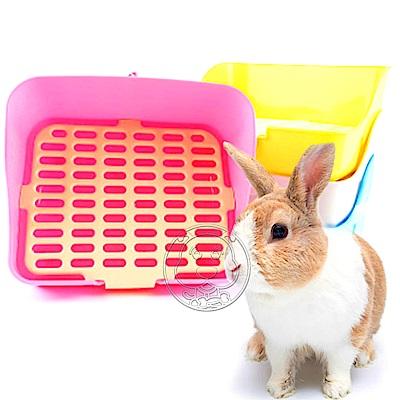 dyy》《方型兔便盆》縫細細小22.8CM×寬28CM(顏色隨機出貨)