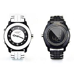 colore TWINS錶現心情錶出個性錶現時尚麗彩數位指針錶M05