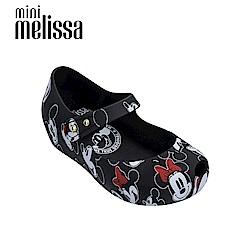 Melissa X Mickey 娃娃鞋寶寶款-黑色