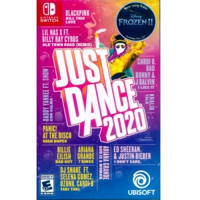 舞力全開 2020  Just Dance 2020 - NS Switch 中英文美版