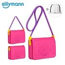 韓國sillymann 100%鉑金矽膠可愛心型兒童包包