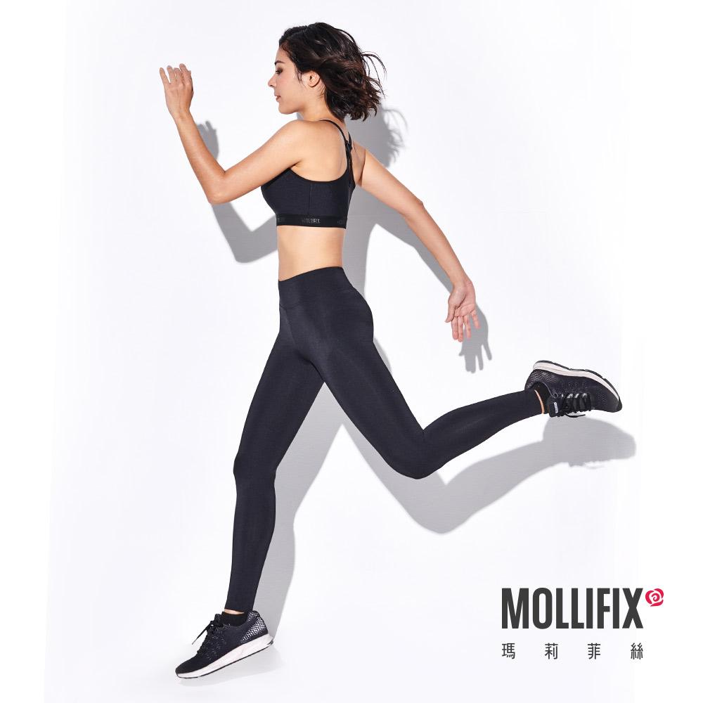 [時時樂限定]Mollifix 彈力修身動塑褲