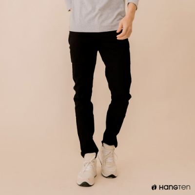 Hang Ten-男裝男裝-SKINNY FIT緊身長褲-黑色