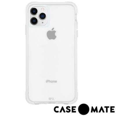 美國Case●Mate iPhone 11 Pro Max防摔手機保護殼-透明(贈玻璃貼)