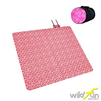 WildFun 300x300四季可用舒適舖棉地墊 山櫻花