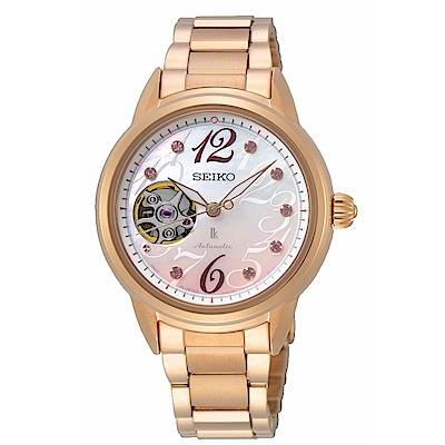 SEIKO LUKIA芯動優雅限量紀念機械腕錶SSA798J1/4R38-01W0P