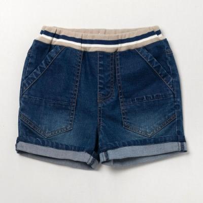 PIPPY 羅紋彈力牛仔褲 藍