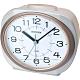 RHYTHM日本麗聲 經典造型實用貪睡功能鈴聲鬧鐘(玫瑰金)/13cm product thumbnail 1