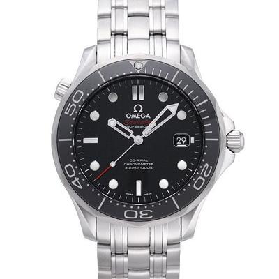 OMEGA 歐米茄 Seamaster 海馬300米潛水腕錶x黑x41mm