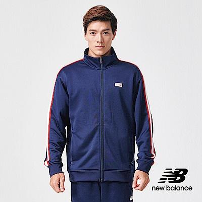 New Balance 外套_AMJ91556PGM_男性_深藍
