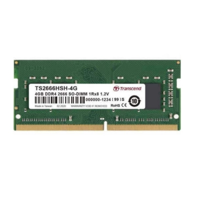 Transcend創見 TS系列  DDR4-2666MHz 4GB 筆電記憶體