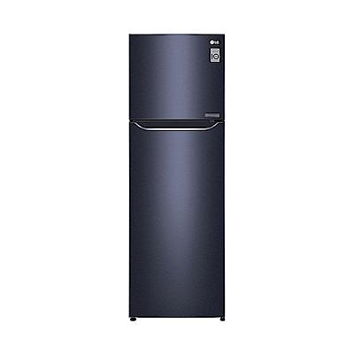 [限時優惠] LG樂金 253L 一級能效直驅變頻上下門冰箱(典雅藍)GN-L307C