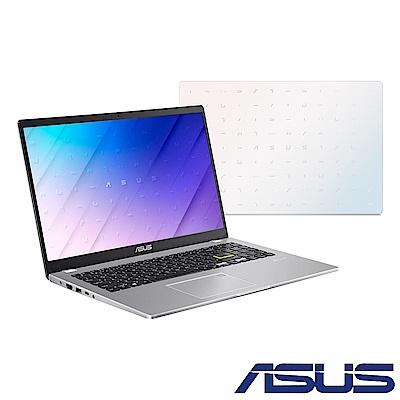 ASUS E510MA 15.6吋筆電 (N4120/4G/128G eMMC/Win10 HOME S模式/Smart NB/夢幻白)