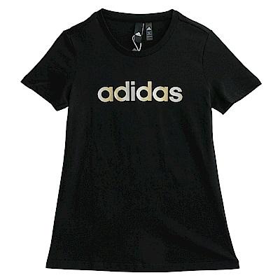Adidas GFX SS T-短袖上衣-女