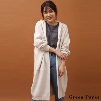 Green Parks 分層式設計長版針織罩衫