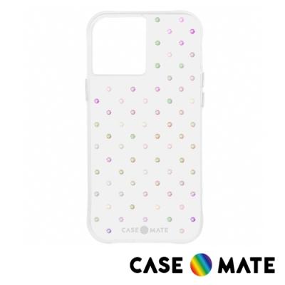 美國 Case-Mate iPhone 12 Pro Max Iridescent Gems 彩虹色水鑽防摔抗菌手機保護殼