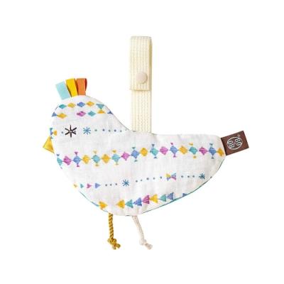 BOBO 動物響紙安撫巾(小鳥)